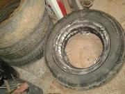 продам комплект колес от автомобиля Таврия.